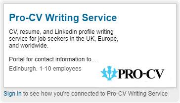 Linkedin Pro-CV